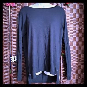 CALVIN KLEIN BLOUSE color black